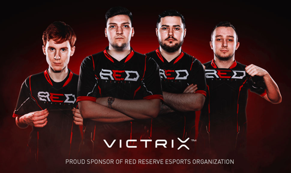 Victrix Signs Partnership with Red Reserve (ESPORTS INSIDER)