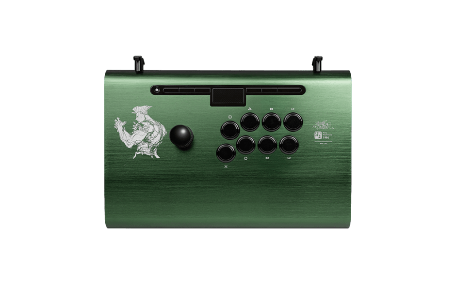 Guile Limited Edition Pro FS Arcade Fight Stick Top