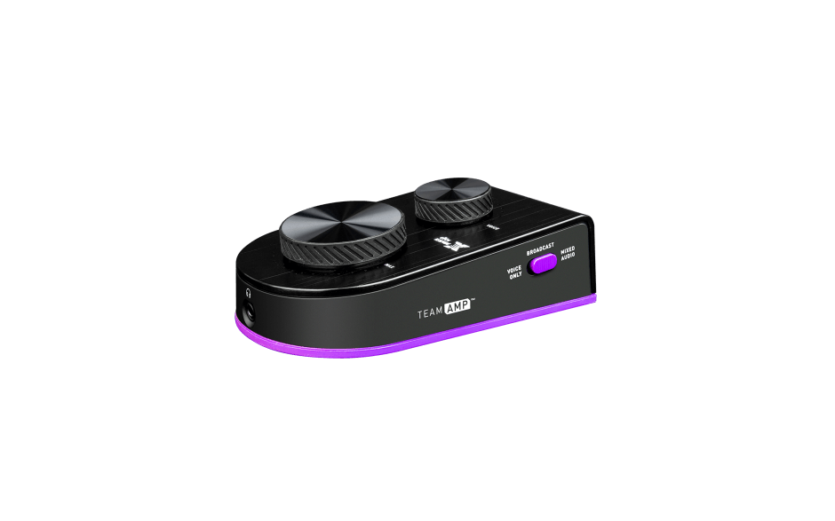 Victrix TeamAMP Audio Controller Lower Right Side