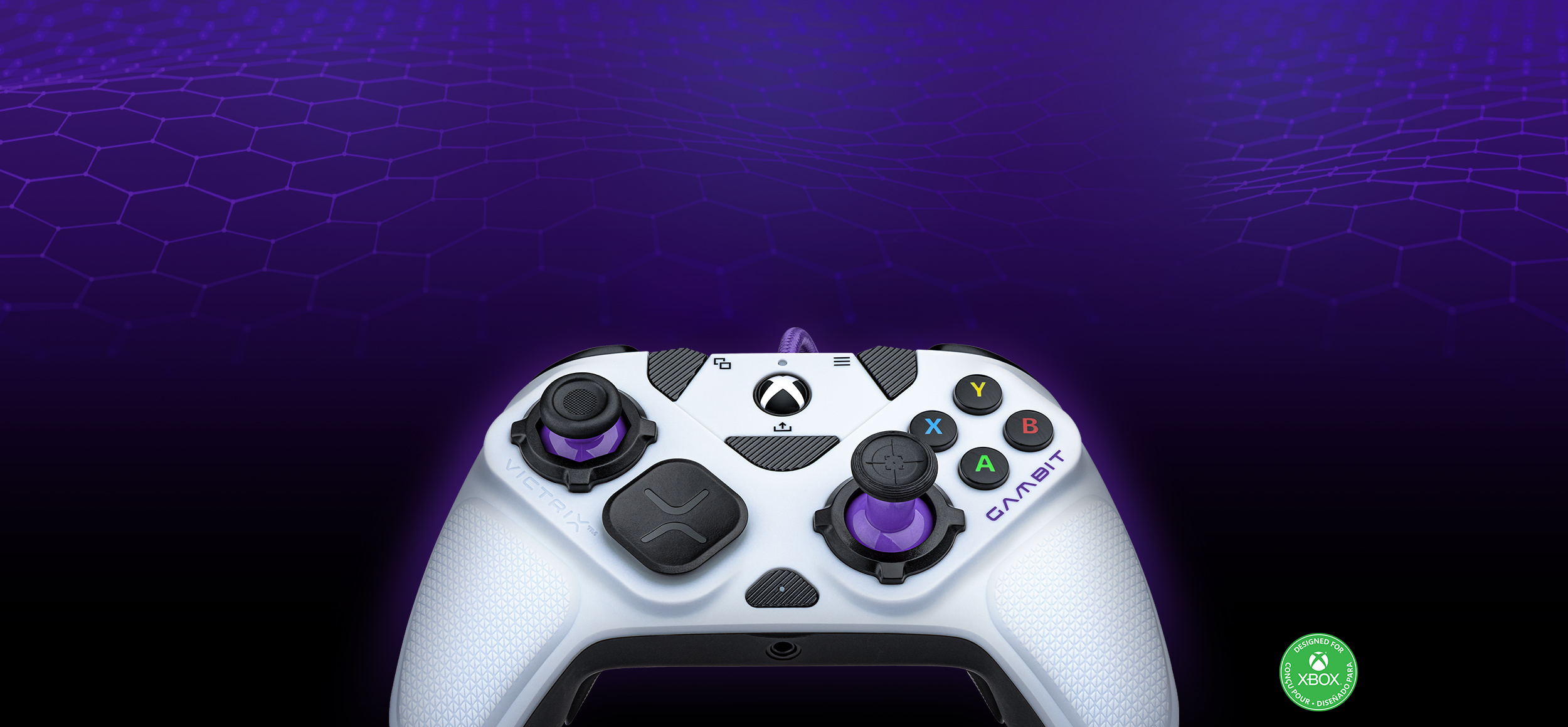 Front Image of Victrix Gambit Controller